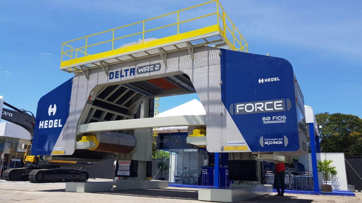 Hedel Máquinas expõe sua Multifios Delta Wire 2 Force